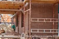 Ход строительства в корпусе 8 очередь