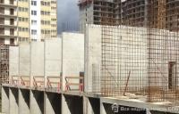 Ход строительства в корпусе 3 очередь