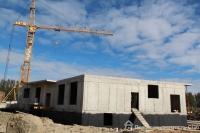 Ход строительства в корпусе 4 очередь