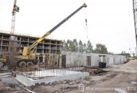 Ход строительства в корпусе 1 и 2 очереди