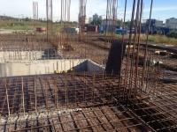 Ход строительства в корпусе 1 очередь
