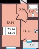 Однокомнатные квартиры в «Александровский»