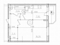 Однокомнатные квартиры в «Алфавит»