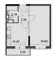Однокомнатные квартиры в «Английская миля»