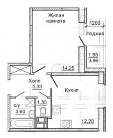 Однокомнатные квартиры в «Астрид»