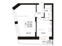 Однокомнатные квартиры в «Березовая роща»