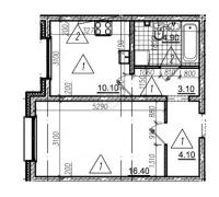 Однокомнатные квартиры в «Цветной город»