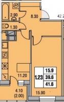 Однокомнатные квартиры в «Екатерининский»