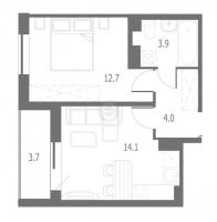 Однокомнатные квартиры в «Энфилд»