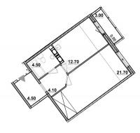 Однокомнатные квартиры в «Европейский»
