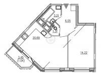 Однокомнатные квартиры в GreenЛандия