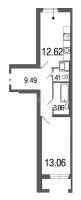 Однокомнатные квартиры в Green City («Грин сити»)
