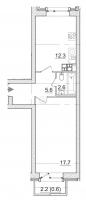 Однокомнатные квартиры в «Итальянский квартал»