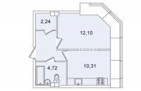 Однокомнатные квартиры в «Капитал»