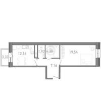 Однокомнатные квартиры в «Капитан Немо»