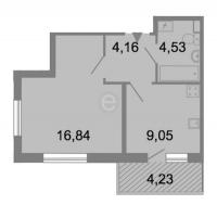 Однокомнатные квартиры в «Клёны»