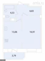 Однокомнатные квартиры в «Лиственный»