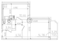 Однокомнатные квартиры в «Материк»