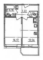 Однокомнатные квартиры в «Медалист»