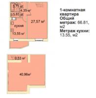 Однокомнатные квартиры в «Медный всадник»