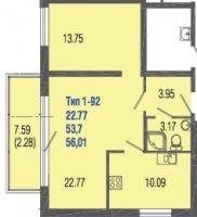 Однокомнатные квартиры в Mistola Hills («Мистола Хиллс»)