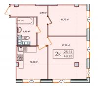 Однокомнатные квартиры в «Парнас»