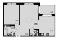 Однокомнатные квартиры в «Образцовый квартал-2»