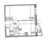 Однокомнатные квартиры в «Петр Великий и Екатерина Великая»