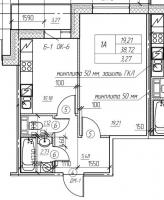 Однокомнатные квартиры в «Пифагор»