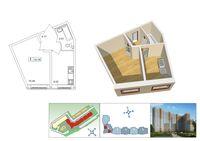 Однокомнатные квартиры в «Приневский»