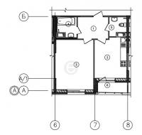 Однокомнатные квартиры в «Самоцветы»
