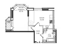 Однокомнатные квартиры в «Северная долина»
