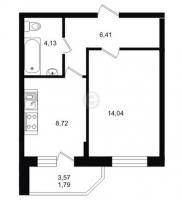 Однокомнатные квартиры в «Северный вальс»