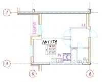 Однокомнатные квартиры в «Шушары»