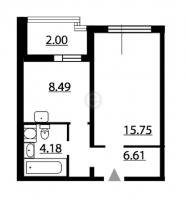 Однокомнатные квартиры в «Шуваловский»