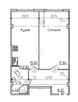 Однокомнатные квартиры в «Силы природы»