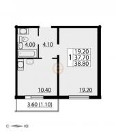 Однокомнатные квартиры в CINEMA («Синема»)