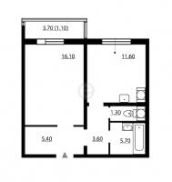 Однокомнатные квартиры в «София»