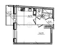 Однокомнатные квартиры в «Старая крепость»