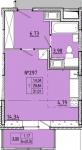 Однокомнатные квартиры в «Стереос» (Stereos)