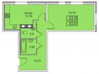 Однокомнатные квартиры в «Дом на Тамбовской»