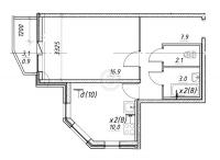 Однокомнатные квартиры в «Три апельсина»