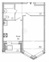 Однокомнатные квартиры в «Тридевяткино Царство»