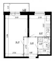 Однокомнатные квартиры в «UP! Комендантский»