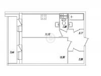 Однокомнатные квартиры в «Весна»