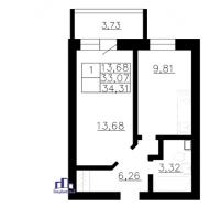Однокомнатные квартиры в «Воронцов»