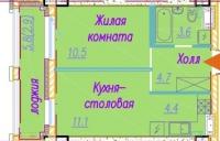 Однокомнатные квартиры в «Времена Года»