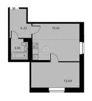 Однокомнатные квартиры в «Высота»