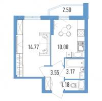 Однокомнатные квартиры в «Yoga»