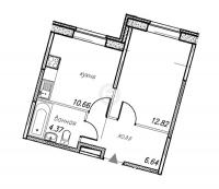 Однокомнатные квартиры в «Юнтолово»